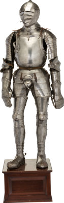 Complete Suit of Armor, 16-17th Century