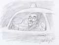 """Animation Art:Production Drawing, Bill Plympton """"Heard 'Em Say"""" Kanye West Music Video Animation Drawings Group of 5 (Sony, 2005).... (Total: 5 Original Art)"""