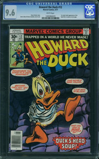 Howard the Duck #12 (Marvel, 1977) CGC NM+ 9.6 White pages