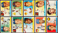Baseball Cards:Sets, 1955 Topps Baseball Partial Set (142/206). ...