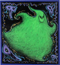 Animation Art:Concept Art, Tim Burton's The Nightmare Before Christmas Oogie Boogie Concept Art (Touchstone/Walt Disney, 1993). ...
