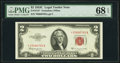 Fr. 1512* $2 1953C Legal Tender Note. PMG Superb Gem Unc 68 EPQ