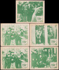 """Movie Posters:Horror, The Mysterious Mr. Wong (Classic Pictures, R-1950). Fine/Very Fine. Lobby Cards (5) (11"""" X 14""""). Horror.. ... (Total: 5 Items)"""