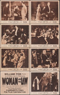 """Movie Posters:Drama, Woman and the Law (Fox, 1918). Overall: Fine/Very Fine. Lobby Card Set of 12 & Lobby Cards (4) (11"""" X 14""""). Drama.. ... (Total: 16 Items)"""
