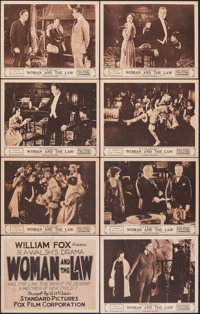 """Woman and the Law (Fox, 1918). Overall: Fine/Very Fine. Lobby Card Set of 12 & Lobby Cards (4) (11"""" X 14"""")..."""