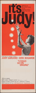 "Movie Posters:Drama, I Could Go On Singing (United Artists, 1963). Rolled, Fine/Very Fine. Insert (14"" X 36""). Drama.. ..."