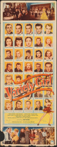 "Movie Posters:Musical, Variety Girl (Paramount, 1947). Folded, Fine. Insert (14"" X 36""). Musical.. ..."