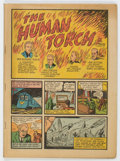 Golden Age (1938-1955):Superhero, Marvel Mystery Comics #3 Coverless (Timely, 1940) Condition: Coverless....