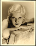 Movie Posters:Miscellaneous, Jean Harlow by Clarence Sinclair Bull (MGM, 1930s). Very F...