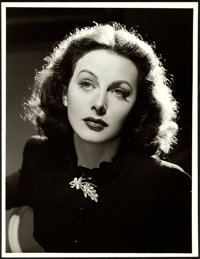"""Hedy Lamarr in """"The Heavenly Body"""" (MGM, 1943). Very Fine. Portrait Photo (10"""" X 13"""")"""