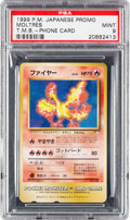 "Memorabilia:Trading Cards, Pokémon Tropical Mega Battle Phone Card ""Moltres"" (1999) PSA MINT 9...."