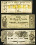 Obsoletes By State:Louisiana, (Lake Providence), LA- Parish of Carroll $3 Aug. 11, 1862 Fine;. New Orleans, LA- Municipality No. Two $3 Dec. 1, 18... (Total: 3 notes)