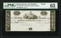 Obsoletes By State:Massachusetts, New Bedford, MA- Bedford Commercial Bank $10 18__ G28 Proof PMG Choice Uncirculated 63.. ...