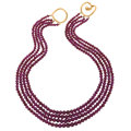 Estate Jewelry:Necklaces, Garnet, Gold Necklace, Angela Cummings. ...