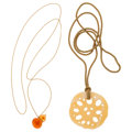 Estate Jewelry:Necklaces, Multi-Stone, Silk, Gold Pendant-Necklaces, Angela Cummings. ... (Total: 2 Items)