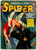 Pulps:Hero, The Spider - March 1940 (Popular) Condition: VG....