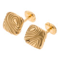 Estate Jewelry:Cufflinks, Gold Cuff Links, Angela Cummings . ...
