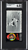 Baseball Cards:Singles (1970-Now), 1971 Topps Greatest Moments Lou Brock #27 SGC EX/NM+ 6.5....