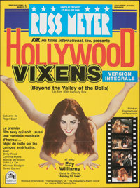 """Beyond the Valley of the Dolls (20th Century Fox, R-1980s). Folded, Very Fine-. Full-Bleed French Grande (46"""" X 61..."""