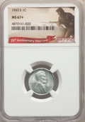 Lincoln Cents, 1943-S 1C MS67+ NGC. NGC Census: (2667/55). PCGS Population: (2159/119). CDN: $180 Whsle. Bid for NGC/PCGS MS67. Mintage 19...