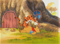 Animation Art:Production Cel, The New Adventures of Winnie the Pooh Tigger and Pooh Production Cel Setup (Walt Disney, 1989). ...