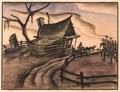 Animation Art:Production Drawing, Song of the South Storyboard Drawing Original Art (Walt Disney, 1946)....