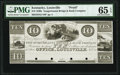Obsoletes By State:Maryland, Port Deposit, MD- Susquehanna Bridge & Bank Company - Louisville, KY Office $10 18__ as G110 Shank 102.12.23 P Proof PMG G...
