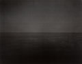 Photographs, Hiroshi Sugimoto (Japanese, b. 1948). Time Exposed, Ionian Sea, Santa Cesare, 1990. Offset lithograph. 9-1/2 x 12-1/4 in...
