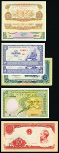 World (Indonesia, Vietnam) Group Lot of 17 Examples About Uncirculated-Crisp Uncirculated. ... (Total: 17)