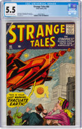 Silver Age (1956-1969):Horror, Strange Tales #68 (Marvel, 1959) CGC FN- 5.5 Off-white to white pages....