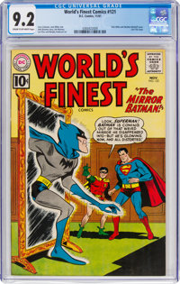 World's Finest Comics #121 (DC, 1961) CGC NM- 9.2 Cream to off-white pages
