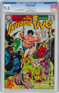 Silver Age (1956-1969):Humor, The Inferior Five #3 (DC, 1967) CGC NM 9.4 Off-white to white pages....