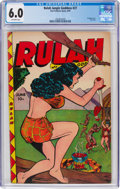 Golden Age (1938-1955):Miscellaneous, Rulah Jungle Goddess #27 (Fox Features Syndicate, 1949) CGC FN 6.0 Off-white pages....