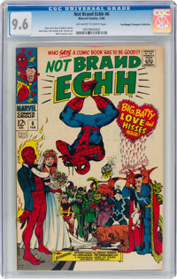 Not Brand Echh #6 Don/Maggie Thompson Collection Pedigree (Marvel, 1968) CGC NM+ 9.6 Off-white to white pages
