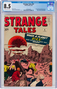 Strange Tales #97 (Marvel, 1962) CGC VF+ 8.5 Off-white to white pages