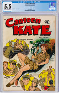 Canteen Kate #1 (St. John, 1952) CGC FN- 5.5 Cream to off-white pages