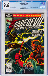 Daredevil #168 (Marvel, 1981) CGC NM+ 9.6 White pages