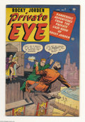 Golden Age (1938-1955):Crime, Private Eye #7 (Atlas, 1952) Condition: FN. Starring Rocky Jorden.Vernon Henkel cover and art. Brown edges. Overstreet 2004...