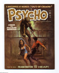 Bronze Age (1970-1979):Horror, Psycho #4 (Skywald, 1971) Condition: VF+. Ken Kelly cover. Art byRoss Andru (starring the Heap), Rich Buckler, Bruce Jones,...