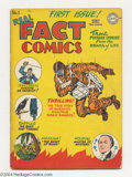 Golden Age (1938-1955):Non-Fiction, Real Fact Comics #1 (DC, 1946) Condition: VG. Joe Simon and JackKirby cover and art. Harry Houdini story. Just Imagine begi...