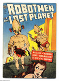 Golden Age (1938-1955):Science Fiction, Robotmen of the Lost Planet #1 (Avon, 1952) Condition: VG-. GeraldMcCann and Gene Fawcette art. Overstreet 2004 VG 4.0 valu...