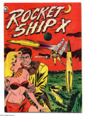 Golden Age (1938-1955):Science Fiction, Rocket Ship X #1 (Fox, 1951) Condition: VG+. Overstreet 2004 VG 4.0value = $122....