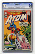 Silver Age (1956-1969):Superhero, Showcase #34 (DC, 1961) CGC VG/FN 5.0 Off-white to white pages. Origin and first appearance of the Silver Age Atom. Gil Kane...
