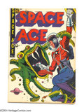 Golden Age (1938-1955):Science Fiction, Space Ace #5 (Magazine Enterprises, 1952) Condition: VG. The onlyissue of the title. Fred Guardineer art. Overstreet 2004 V...