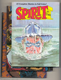 Bronze Age (1970-1979):Miscellaneous, The Spirit Color Album #1-3 Group (Kitchen Sink, 1981-83)Condition: Average VF. All three hardback volumes of Spiritstorie... (Total: 3 Comic Books Item)