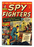 Spy Fighters #1 (Atlas, 1951) Condition: VG/FN. Clark Mason begins. Sol Brodsky cover. George Tuska art. Overstreet 2004...