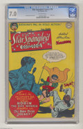 Golden Age (1938-1955):Superhero, Star Spangled Comics #80 (DC, 1948) CGC FN/VF 7.0 Off-white pages. Jim Mooney cover. Mooney, Win Mortimer, and Fred Ray art....