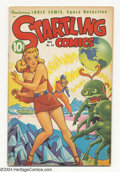 Golden Age (1938-1955):Science Fiction, Startling Comics #48 (Better Publications, 1947) Condition: FN.Alex Schomburg cover. Overstreet 2004 FN 6.0 value = $180....