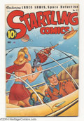 Golden Age (1938-1955):Science Fiction, Startling Comics #51 (Better Publications, 1948) Condition: VG+.Alex Schomburg cover. Sea-Eagle appearance. Looks VF, but h...