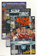 Books:Miscellaneous, Star Trek Miscellaneous Group (Various, 1989-93) Condition: Average VF/NM. This group includes Star Trek (DC 1989 series... (Total: 3 Comic Books Item)